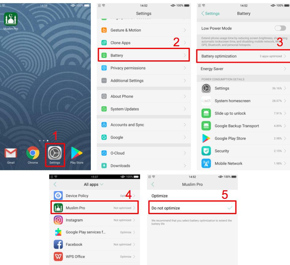 تطبيق-المؤذن-و-الواتس-لا-يعمل-على-اوبو-2018
